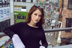 Diện loạt đồ đắt đỏ, Sam khoe phong cách cực cá tính trên đường phố Hàn Quốc