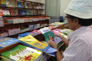 Lựa chọn sách giáo khoa mới: Nhiều việc cần làm