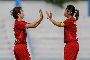 ĐT nữ Việt Nam thắng Myanmar 4-0, vào bán kết AFF Cup 2019
