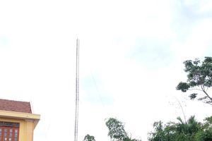 2 kỹ thuật viên Đài huyện tử vong khi tháo dỡ cột ăng ten
