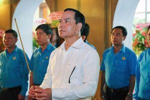 Chủ tịch Tổng LĐLĐ Việt Nam dâng hương tưởng nhớ Chủ tịch Tôn Đức Thắng