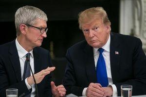 Tổng thống Trump: CEO Apple có lý khi quan ngại về Samsung