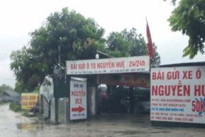Sóc Sơn (Hà Nội): Cần xử lý nghiêm những bãi trông giữ xe trái phép