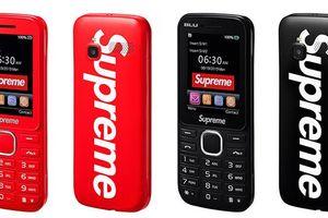 Điện thoại 3G cơ bản kèm logo Supreme