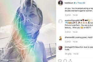 Showbiz 20/8: Heidi Klum bị chỉ trích gay gắt vì đăng ảnh hở toàn bộ ngực