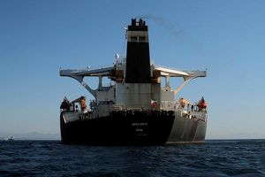 Mỹ cảnh báo nhiều nước không được giúp tàu chở dầu Iran
