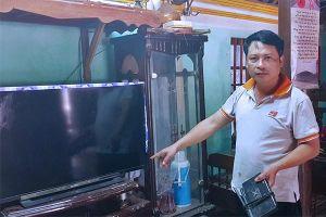 1 phút 9 lần mất điện ở Thanh Hóa... tại cái cây của công ty khác