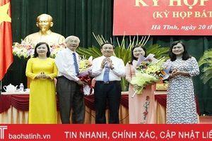 Bà Nguyễn Thị Nguyệt được bầu giữ chức Trưởng ban Văn hóa - Xã hội HĐND tỉnh Hà Tĩnh