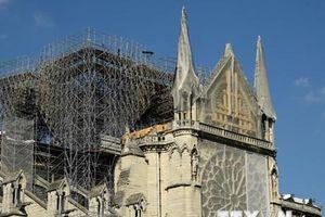 Nối lại công tác đảm bảo an toàn cho cấu trúc nhà thờ Đức Bà Paris