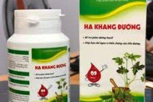 TPCN Hạ Khang Đường được quảng cáo như thuốc chữa bệnh