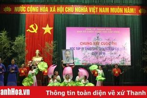 Chung kết Cuộc thi 'Học tập Di chúc của Chủ tịch Hồ Chí Minh', Cụm số III cấp tỉnh