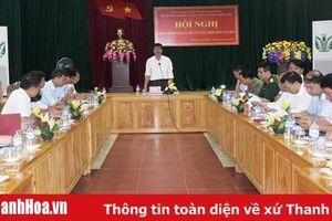 Thẩm định, công nhận đạt chuẩn nông thôn mới cho 2 xã của huyện Thường Xuân