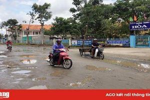 Người dân mong đường K16 sớm duy tu, sửa chữa