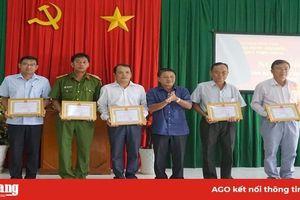 Phú Tân tổ chức 'Ngày hội toàn dân bảo vệ an ninh Tổ Quốc 2019'