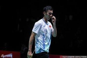 Tiến Minh thua ngược Lin Dan tại giải vô địch thế giới