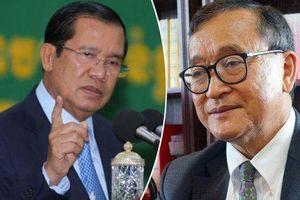 Thủ tướng Campuchia đệ đơn kiện ông Sam Rainsy lên tòa án Pháp