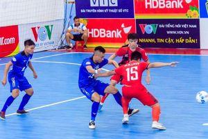 Chuẩn bị diễn ra lượt về Giải futsal HDBank VĐQG 2019