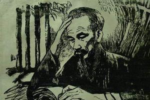 50 tác phẩm hội họa ở triển lãm đặc biệt: 'Nhớ về Bác'