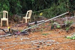 Quảng Bình: Cột ăng ten bị gãy, 2 công nhân kỹ thuật Đài huyện tử vong