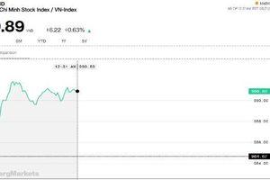 Chứng khoán sáng 21/8: Ngân hàng vươn lên trở thành đầu tàu, VN-Index dễ dàng chạm 990 điểm