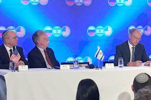 Triển vọng từ cuộc gặp của cố vấn an ninh cấp cao ba nước Nga-Mỹ-Israel