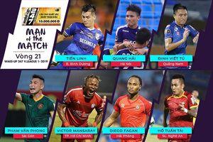 Vòng 21 V.League 2019: Khi nội binh lên ngôi