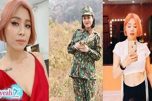 Loạt ảnh nổi loạn của MC 'Chúng tôi là chiến sĩ' Hoàng Linh khiến khán giả mỉa mai kém thanh lịch