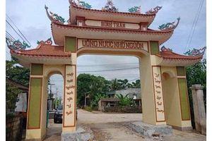 Thanh Hóa: Công an vào cuộc làm rõ, xử lý nhóm đối tượng đập phá cổng làng
