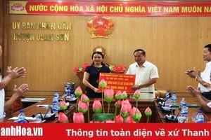 Cộng đồng người Việt tại Hủa Phăn, Lào hỗ trợ đồng bào vùng lũ Quan Sơn, Mường Lát