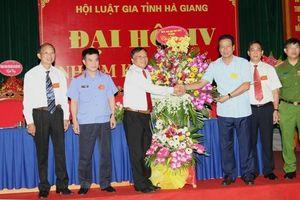 Đại hội Hội Luật gia tỉnh Hà Giang lần thứ IV, nhiệm kỳ 2019-2024