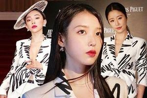 Đụng hàng áo hiệu với Tóc Tiên, Lâm Tâm Như, 'bà chủ khách sạn Hotel Del Luna' IU được khen hết lời nhờ lối mix khác biệt