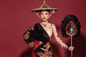 Hé lộ 'quốc phục' của Mỹ Huyền tại Miss International Globe 2019