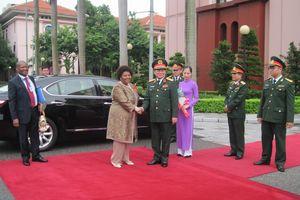 Thúc đẩy hợp tác quốc phòng giữa Việt Nam và Nam Phi