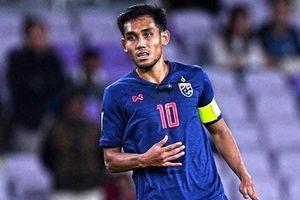 Hé lộ nguyên nhân Thái Lan chỉ gọi 2 tiền đạo ở trận gặp tuyển Việt Nam tại vòng loại World Cup 2022