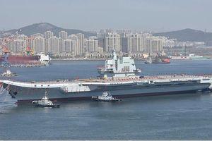 Tàu sân bay tự đóng đầu tiên của Trung Quốc 'bắt đầu phục vụ' từ cuối năm nay