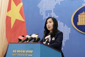 Việt Nam phản bác phát biểu của BNG Trung Quốc, yêu cầu rút toàn bộ tàu khỏi EEZ