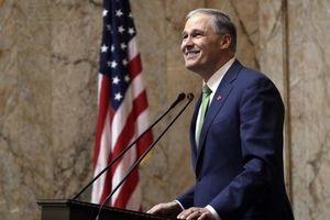 Thống đốc bang Washington Jay Inslee rút khỏi cuộc đua bầu cử tổng thống Mỹ