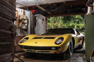 Siêu xe Lamborghini Miura 'bỏ xó' rao bán 27,68 tỷ đồng