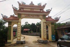 Điều tra nhóm đối tượng đi ô tô đến đập phá cổng làng ở Thanh Hóa