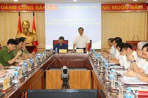 Lãnh đạo Ban Tổ chức Trung ương làm việc với Đảng ủy Công an Trung ương
