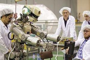 Robot Nga thay phi hành gia 'lái' tàu vũ trụ lên trạm ISS