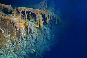 Những hình ảnh mới nhất gây sốc về số phận hiện tại của Titanic
