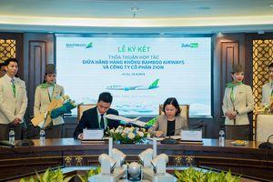 Bamboo Airways và ví điện tử ZaloPay chính thức ký kết thỏa thuận hợp tác