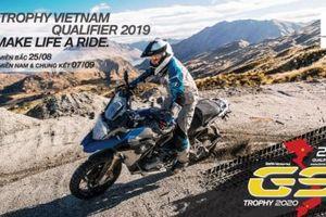 Vòng loại BMW Motorrad International GS Trophy Việt Nam sẽ diễn ra từ 25/8/2019