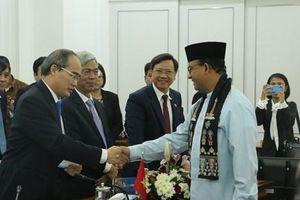 Thành phố Hồ Chí Minh thúc đẩy hợp tác toàn diện với Indonesia