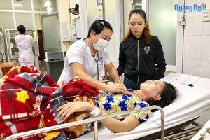 Cứu sống một phụ nữ đã ngừng thở vì bị sét đánh tại Quảng Ngãi