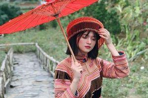 Dân mạng tìm kiếm nữ sinh Lào Cai xinh đẹp trong clip hát nhép