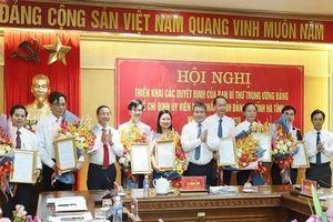 Ban bí thư Trung ương Đảng chỉ định 8 cán bộ giữ chức Ủy viên BCH Đảng bộ tỉnh Hà Tĩnh