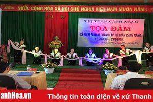 Tọa đàm kỷ niệm 25 năm ngày thành lập thị trấn Cành Nàng, Bá Thước
