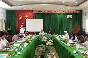 Đoàn đbqh tỉnh Kiên Giang giám sát thực hiện chính sách, pháp luật về quản lý khai thác và bảo vệ nguồn lợi thủy sản